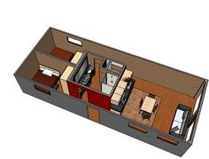 Container House 2- 8 x 40