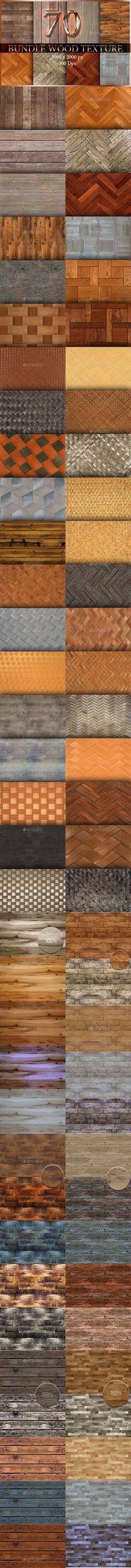 70 Bundle Wood Texture  v.1