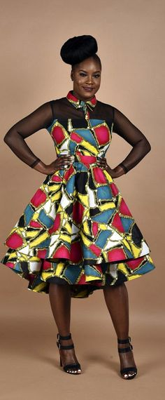 Rahyma Multi-Color Mesh dress. You will fall in love with this Princess dress, carefully Made to perfection. African print Mesh double step dress. Back invisible zipper. Slightly low at the back. Ankara | Dutch wax | Kente | Kitenge | Dashiki | African print bomber jacket | African fashion | Ankara bomber jacket | African prints | Nigerian style | Ghanaian fashion | Senegal fashion | Kenya fashion | Nigerian fashion | Ankara crop top (affiliate)