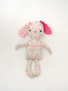 Stuffed Animal Stuffed Bunny Stuffed Rabbit Bunny by melissalove, $25.00