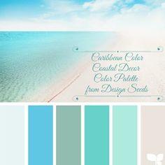 Beach colored paints