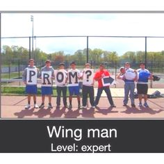I want to be asked to prom like this:)