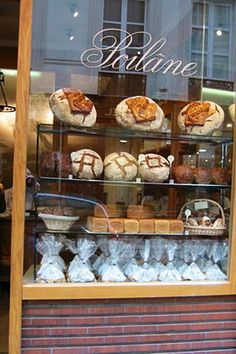 Boulangerie Poilâne - Paris, France really yummy Paris Travel, France Travel, Chocolate Shop, I Love Paris, French Food, French Bakery, Shop Fronts, Shop Around, Boutiques