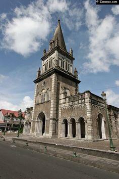 Eglise Notre Dame de la Délivrande. Morne Rouge - Martinique.