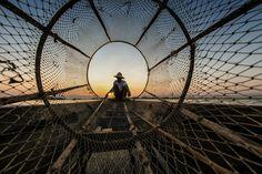 Thru the net by Hamni Juni