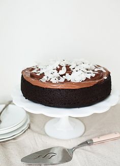 A few months ago I posted a recipe for chocolate cake made with coconut milk , and to my surprise was contacted by KSL Studio 5 (our local m...