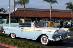1957 Ford Fairlane 500 Convertible .  77 SUNSET STRIP . KOOKIE'S CAR . FRIDAY NIGHT TV