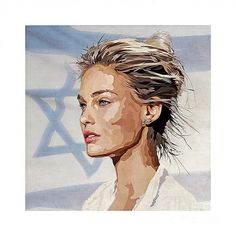 Bar refaeli Painting - Ilan Adar
