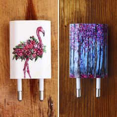 I Paint On iPhone Chargers Using Nail Polish (Part 2)