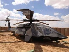 Black Hawk Stealth Chopper...