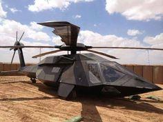 Black Hawk Stealth Chopper...