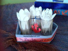 TiquisArte: 15 Fofucho Mugs, Tableware, Sailor Theme, Christening, Dinnerware, Tumbler, Dishes, Mug, Place Settings