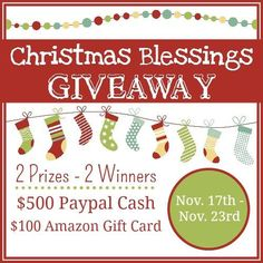 Cash prize for Christmas! Enter today :)