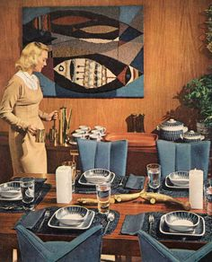 Mid-Century Dining - Better Homes & Gardens [Decorating Ideas Edition] (1960)