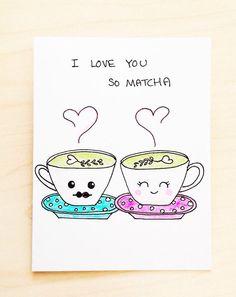 Valentines card funny valentine Cute valentine by LoveNCreativity