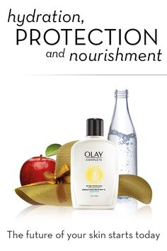 Protect against the #1 cause of aging skin—damage from the sun. Olay Complete All Day SPF 15 Facial Moisturizer provides 48 hours of hydration.
