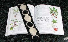 Ravelry: Triple Moon Goddess Bookmark pattern by Erssie