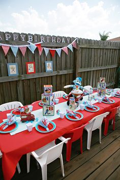 Toy themed baby shower