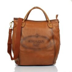 £117.00 Buy Prada Taupe Leather 8830 Tote Bags Outlet Florence