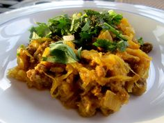 ThreeDietsOneDinner - Paleo Recipes to fit every diet - Paleo Weight Loss - Optimal Nutrition: INDIAN BEEF AND SPAGHETTI SQUASH