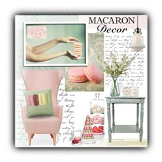 """""""Macaron Decor"""" by sapora ❤ liked on Polyvore"""