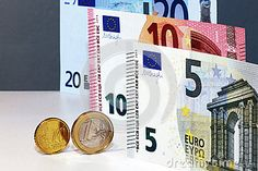 Original photo euro currency still life