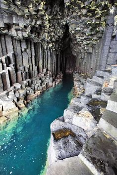 Hopefully on our next trip to Scotland - Fingals Cave, Staffa, Scotland