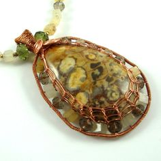 SALE SALE was 60 now 50 Spiderweb Agate Cabochon by FaroCreations, $50.00