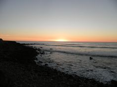 Sunset on Stent Road, Warea.