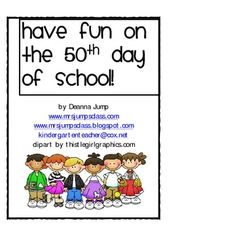 50th day of school writing activity sheets