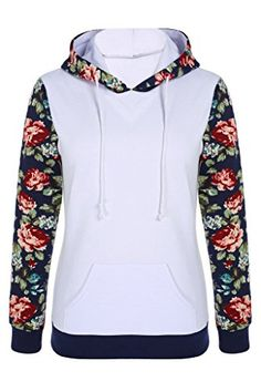 AOVCL Women's Floral Printed Long Sleeve Hooded Pullover Hoodies Sweatshirt >>> CONTINUE @ http://www.cjbless.com/clothing/aovcl-womens-floral-printed-long-sleeve-hooded-pullover-hoodies-sweatshirt/?c=0584