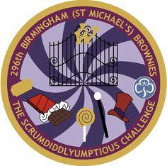 296th Birmingham Brownies - THE SCRUMDIDDLYUMPTIOUS CHALLENGE
