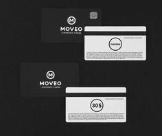 Moveo branding by Antoine Proulx, via Behance