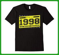 Mens Born in 1998 birthday 19 th gift perfect T-Shirt 3XL Black - Birthday shirts (*Amazon Partner-Link)