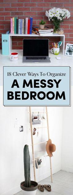 18 Genius Bedroom Organization Hacks