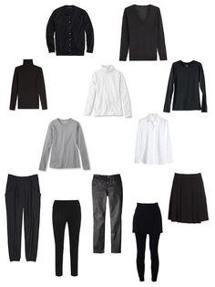 The Vivienne Files: My Wardrobe: Revisiting The Common Wardrobe for winter Core Wardrobe, Capsule Wardrobe Work, Wardrobe Basics, Wardrobe Ideas, Travel Wardrobe, Winter Wardrobe, Wardrobe Staples, Minimalist Wardrobe, Minimalist Style