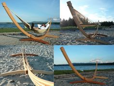 This hammock recently popped up in my yard, YEAH!