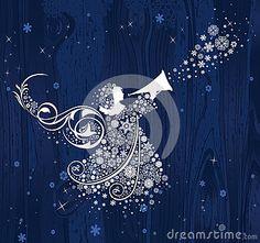 Christmas Angels Stock Photo - Image: 22959090