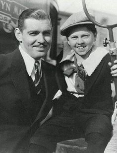 Clark Gable (1901-1960)  & Mickey Rooney (1920-2014)