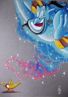 New Tattoo Ideas Disney Aladdin Ideas Disney Aladdin, Aladdin Art, Genie Aladdin, Aladdin Princess, Flame Princess, Princess Aurora, Aladdin Tattoo, Disney Paintings, Disney Artwork