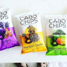 Another find from Whole Foods: Cabo Chips!  100% whole grain and gluten free @cabochips are local to Southern California and made from non-gmo corn. 'Ancient Grain' contains 100mg of Omega 3's per serving and is lightly seasoned with sea salt and FRESH lime juice. Sooo good!  by prettyhealthie