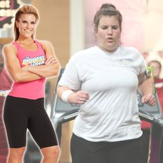 Danni's before and after transformation! Biggest Loser