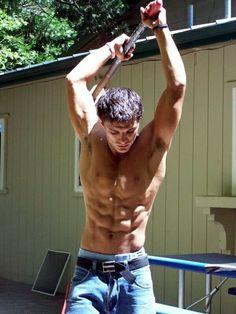 Sledgehammer | #jeans #abs #muscular