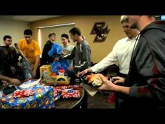 Take a second to watch the amazing work of BC Athletes who recently gathered to wrap gifts for those in need. Warms the heart!