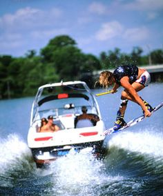 Can't wait for that time of year again!<3 Wakeboarding