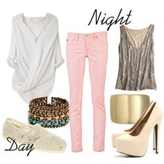 Pale Pinke: how to wear colored skinny jeans Pink Skinny Jeans, Colored Skinny Jeans, Pink Jeans, Day Drinking Outfit, Day To Night Outfits, Types Of Fashion Styles, Fasion, Pretty Outfits, Passion For Fashion