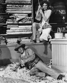 McLintock!, 1963. By Andrew McLaglen with John Wayne, Maureen O'Hara, Yvonne De Carlo, Patrick Wayne and Stefanie Powers.