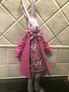 Sally Pickering's Luna with an English Rose coat