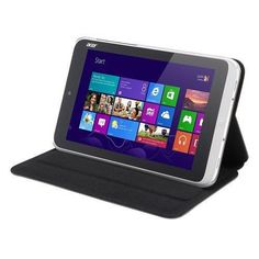 Acer Dark Gray- Protective Cover For W3-810-also Creates Stand And Prop For Tablet