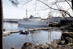 Koululaiva Katarinalla tehdään oikeita töitä   Kymen Sanomat 12.5.2013.